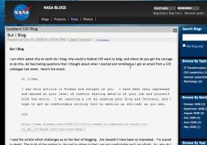NASA Goddard CIO blog