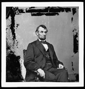 President Lincoln (Photo courtesy of the Library of Congress via Flickr.com)