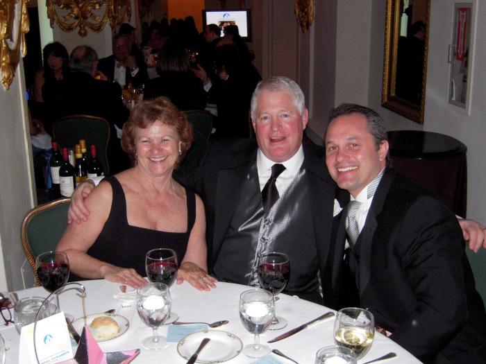Bunny and Ed O'Hare and WFED/WTOP's Ralph Renzi