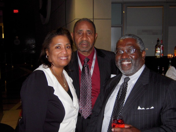 NASA Goddard CIO Linda Cureton and her husband and Ira Hobbs, the former Treasury Department CIO
