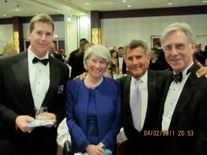 Armstrongs, Guerra at the AFCEA Bethesda Children's Inn Gala